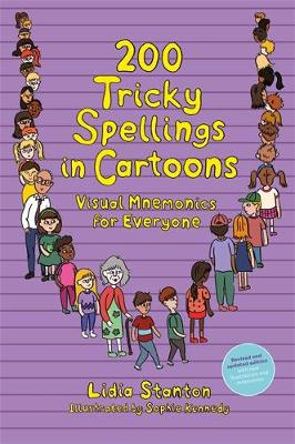 200 Tricky Spellings in Cartoons: Visual Mnemonics for Everyone – Us Edition