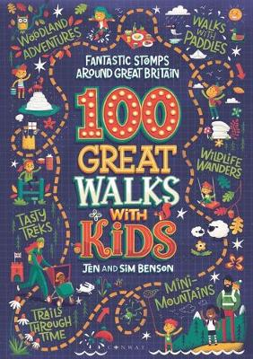 100 Great Walks with Kids: Fantastic stomps around Great Bri...