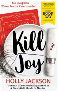 Kill Joy – World Book Day 2021
