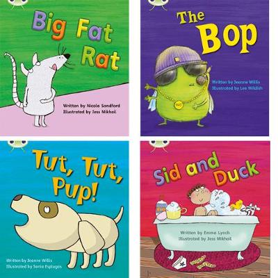 Learn to Read at Home with Phonics Bug: Pack 2 (Pack of 4 fi...