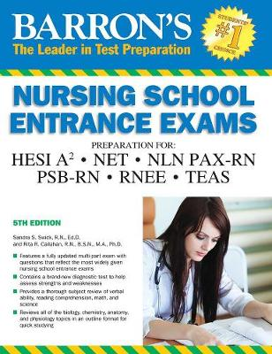 Barron's Nursing School Entrance Exams: HESI A2  /  NE...