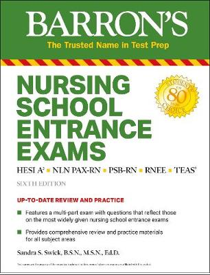 Nursing School Entrance Exams: HESI A2 / NLN PAX-RN / PSB-RN...