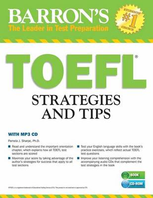 TOEFL Strategies and Tips with MP3 CDs: Outsmart the TOEFL i...