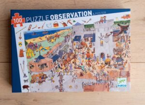 Observation Puzzle – Fortified Castle