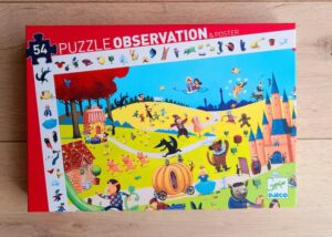 Observation Puzzle – The Tales