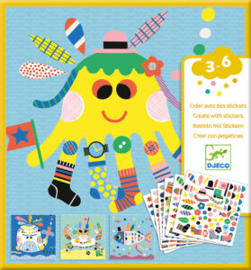 Create with Sticker Collections from Djeco