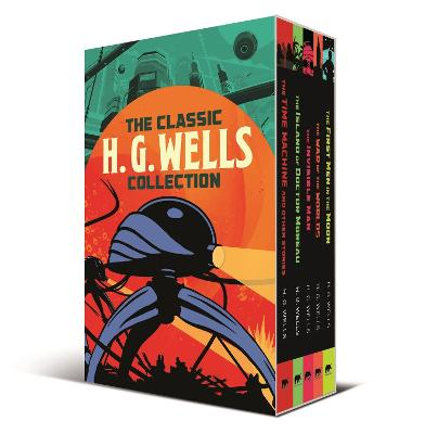 Classic H. G. Wells Collection, The: 5-Volume box set editio...