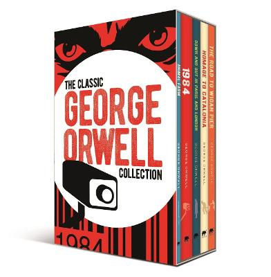Classic George Orwell Collection, The: 5-Volume box set edit...
